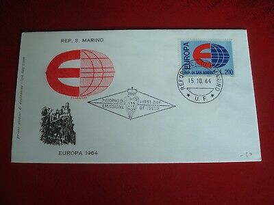 San Marino - 1964 Europa - First Day Cover -  Ex. Condition