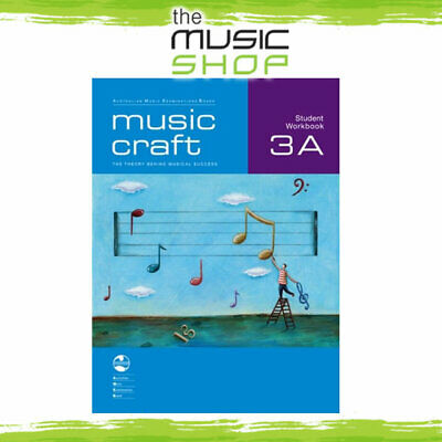AMEB Music Craft - Student Workbook 3A - Music Theory Book with CD