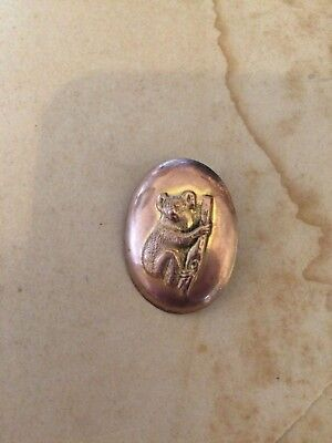 Antique / Vintage Australian Koala Brooch
