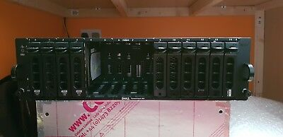 Dell PowerVault MD3000i Dual iSCSI Controllers WORKING with 4 HDD's