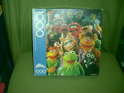 1978 Springbok Jim Henson's The Muppet Party 1000 Piece Puzzle Complete