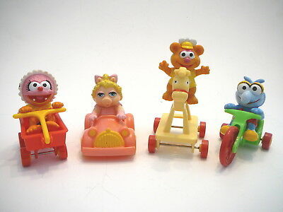 McDonalds Muppet Babies Happy Meal Toys - 4 Toys