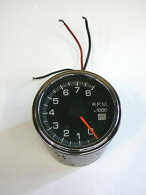 Vintage Stewart Warner Tacho / Tachometer - Hot Rod, Rat Rod, Chev, Ford, etc