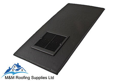 Slate Roof Vent | 500x250mm | Roof Vent | SLATE | Low Line vent | FREE DELIVERY!
