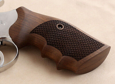 Colt Python & Officer Model Match Walnut Grip
