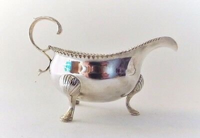 Sauce Jug Solid Sterling Silver FINE Georgian Samuel Meriton London 1771