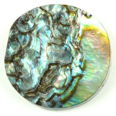 20.00 Cts Natural ABALONE SHELL 25x25 mm Round Jewellery Gemstone Best S-11555