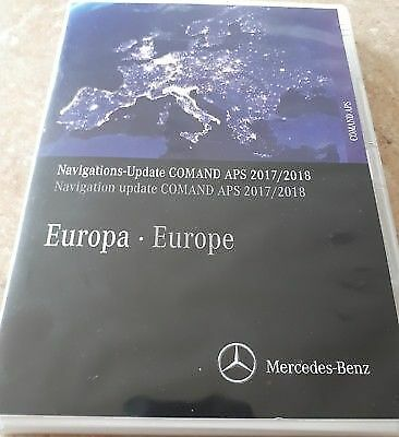 Mercedes NTG4 2018 Europe V15 Map Comand APS W204 + INTEGRATED FIRMWARE!