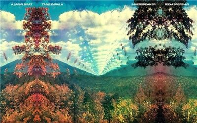 """Tame Impala Psychedelic Rock Music Band Cover 20x13"""" Poster fabric Print Art 04"""
