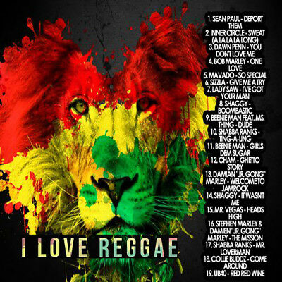 I LOVE REGGAE Mixtape DJ Compilation Mix CD