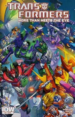 Transformers More Than Meets The Eye #36 1:10 Variant Cover by Alex Milne