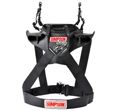 Simpson Hybrid Sport FHR System Hans type Device FIA Approved - QR Adult Small