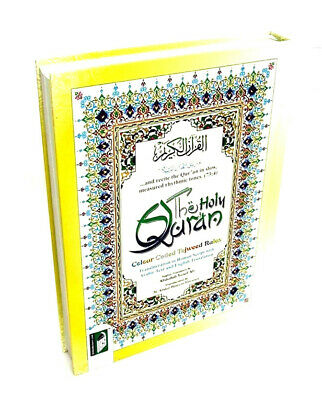 Holy Quran Colour Coded / English Translation & Transliteration (HB - No Box)