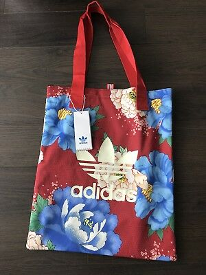 fa02a9f897 ADIDAS ORIGINALS X FARM Chita Floral Shopper Tote Bag NWT Mint ...