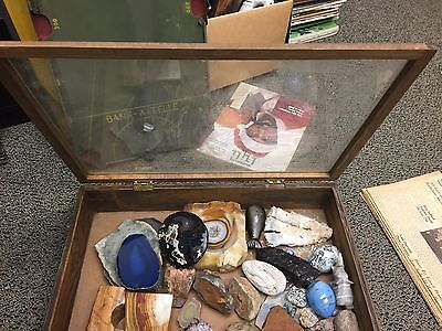 Wooden Small Table Top Display Case