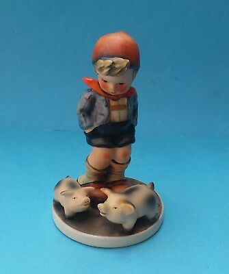 HUMMEL FARM BOY FIGURINE - No. HUM 66