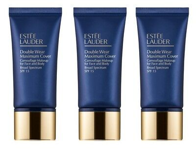 Estee Lauder Double Wear Maximum Cover Grundierung 1C1 1N1 1N3 2C5 2N1 2W2 3C4 +