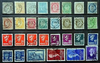 Norway/Norge Selection. (101 stamps)