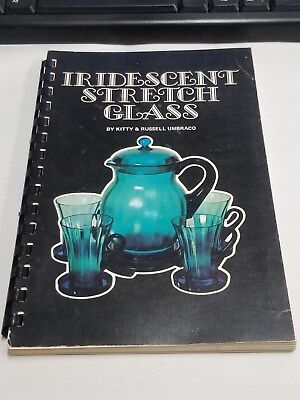 Kitty & Russell Umbraco IRIDESCENT STRETCH GLASS 1972 Comb Binding