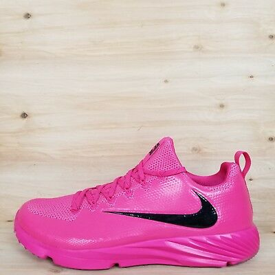 Nike Vapor Speed Football/lax Turf Shoes Pink/blk Bca [884799 606] Men's Sz 12.5