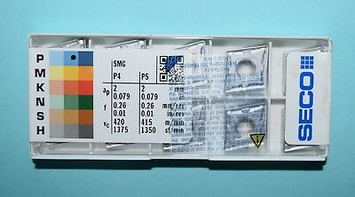 Seco CNMG-432-M3 TP2501 Factory Pack! 10 Pieces!
