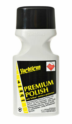 Yachticon Premium Polish Boot Politur mit Teflon® polieren 500ml Caravan Politur