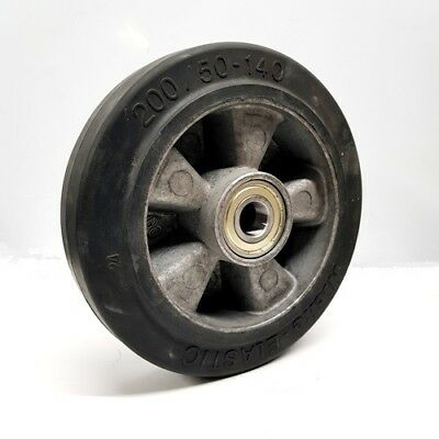 200/50 - 140mm rubber steer wheel for hand pallet truck - OLD STOCK TO CLEAR