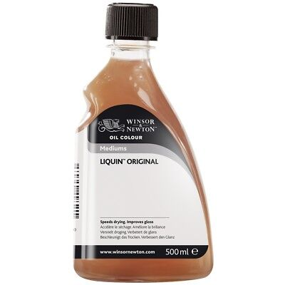 Winsor & Newton Oil Colour Painting Medium Liquin Original 500ml