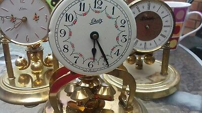 Vintage brass and  clock pendulum - spares parts please look