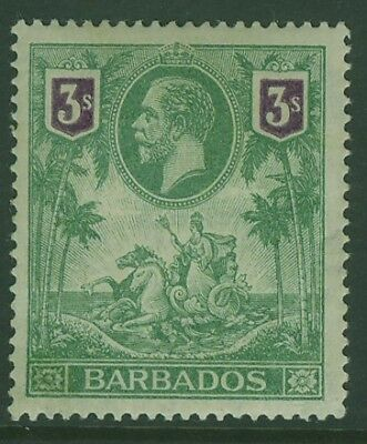 SG 180 3/- violet and green MH