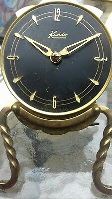Vintage clock spares nice all brass heavt