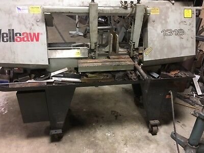 bandsaws used horizontal wellsaw 13x18
