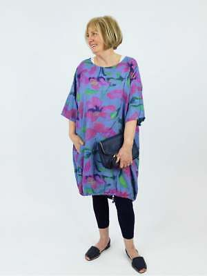 1d1528f87b MADE IN ITALY Roseanne Floral Linen Dress - £15.00