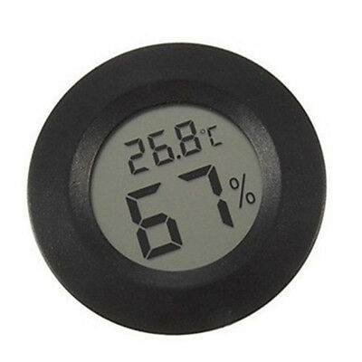 Thermometer Temperature Digital Lcd Hygrometer Gauge Mini Humidity Indoor Home