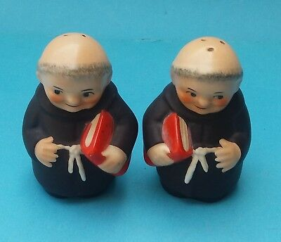 Goebel Monk Salt And Pepper Pots