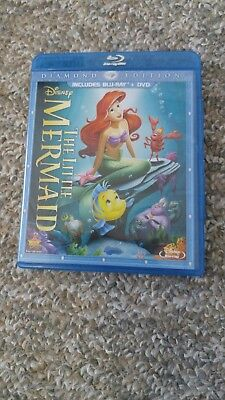 The Little Mermaid (Blu-ray/DVD, 2013,  Diamond Edition Includes Dig…