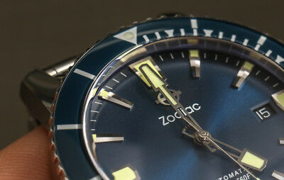 Zodiac Dial Only of ZO9258 SUPER SEA WOLF 53 Dial Only Watch