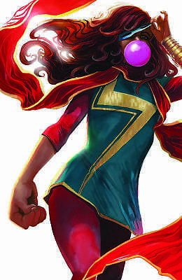Ms. Marvel 31 2018 NM Stephanie Hans Virgin Variant Kamala Khan