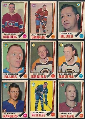 1969-70 O-Pee-Chee complete your set (see list) cards #5-#114 ($0.99- $4.00)