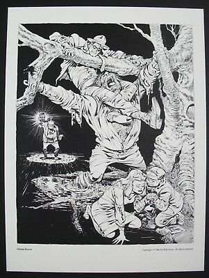 Other Bronze Age Comics 1980 National Cartoonists Society Dweller In The Dungeon Print By Wallace Wood