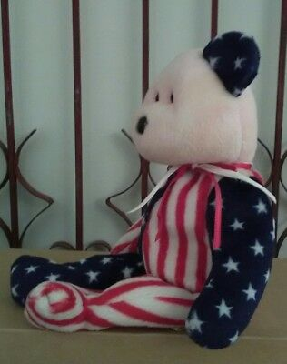 Patriotic Bear Perfect for upcoming Fourth of July Celebration US Flag Design
