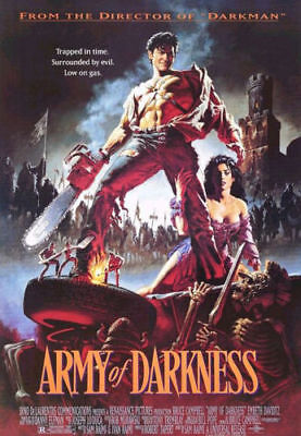 Army of Darkness | LARGE 24X36 MOVIE POSTER |Premium Poster Paper