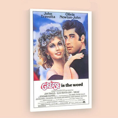 Grease | LARGE 24X36 MOVIE POSTER |Premium Poster Paper
