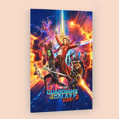 Guardians of the Galaxy Vol. 2 | LARGE 24X36 MOVIE POSTER |Premium Poster Paper