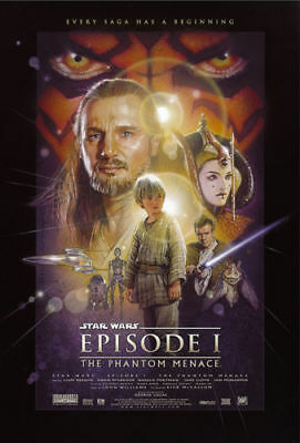 Star Wars Episode 1 | LARGE 24X36 MOVIE POSTER |Premium Poster Paper