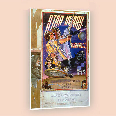 Star wars a new hope | LARGE 24X36 MOVIE POSTER |Premium Poster Paper