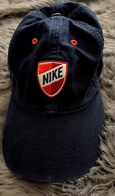 e72459ad0 NIKE VINTAGE 90S Basketball Logo Adjustable Snapback Hat (cracked ...