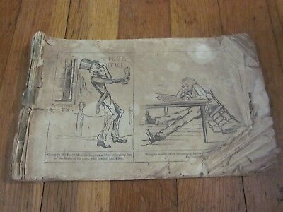 RARE 1849 California Gold Rush Journey to the Diggins Saddlebags 1st 49ers Comic