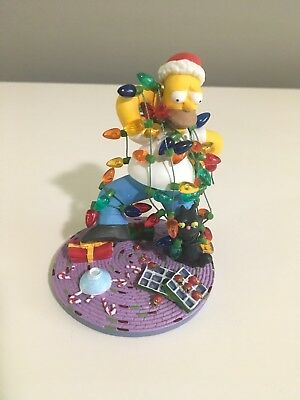 """Hamilton """"Misadventures of Homer Sculpture Collection"""" All Strung Out Simpsons"""