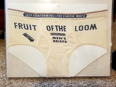 Fruit of the Loom Underwear Advertising Display